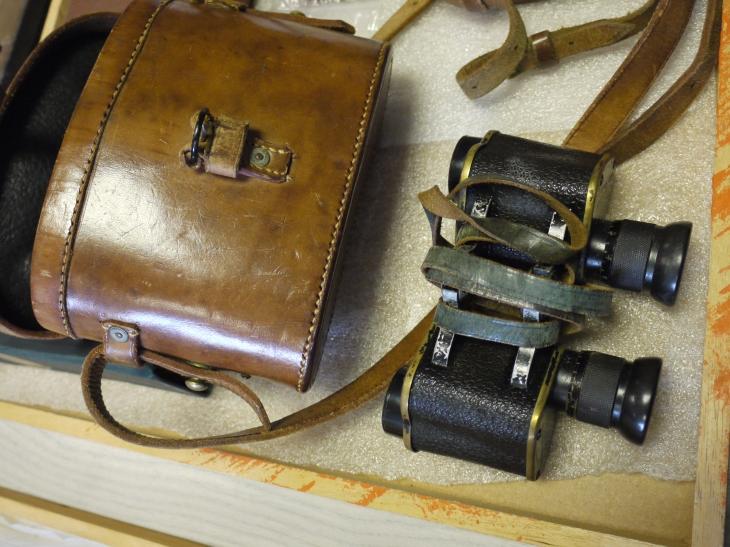JK Thomson's binoculars, GLAHM 138403