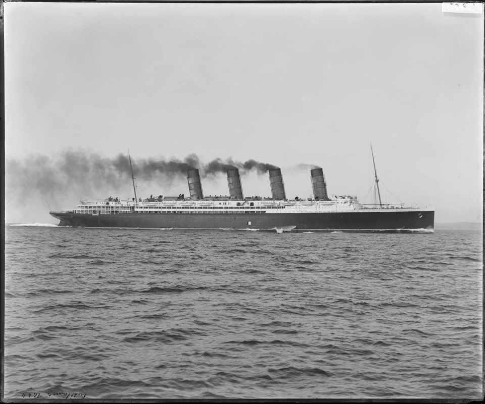 The RMS Lusitania (DC 101/379)