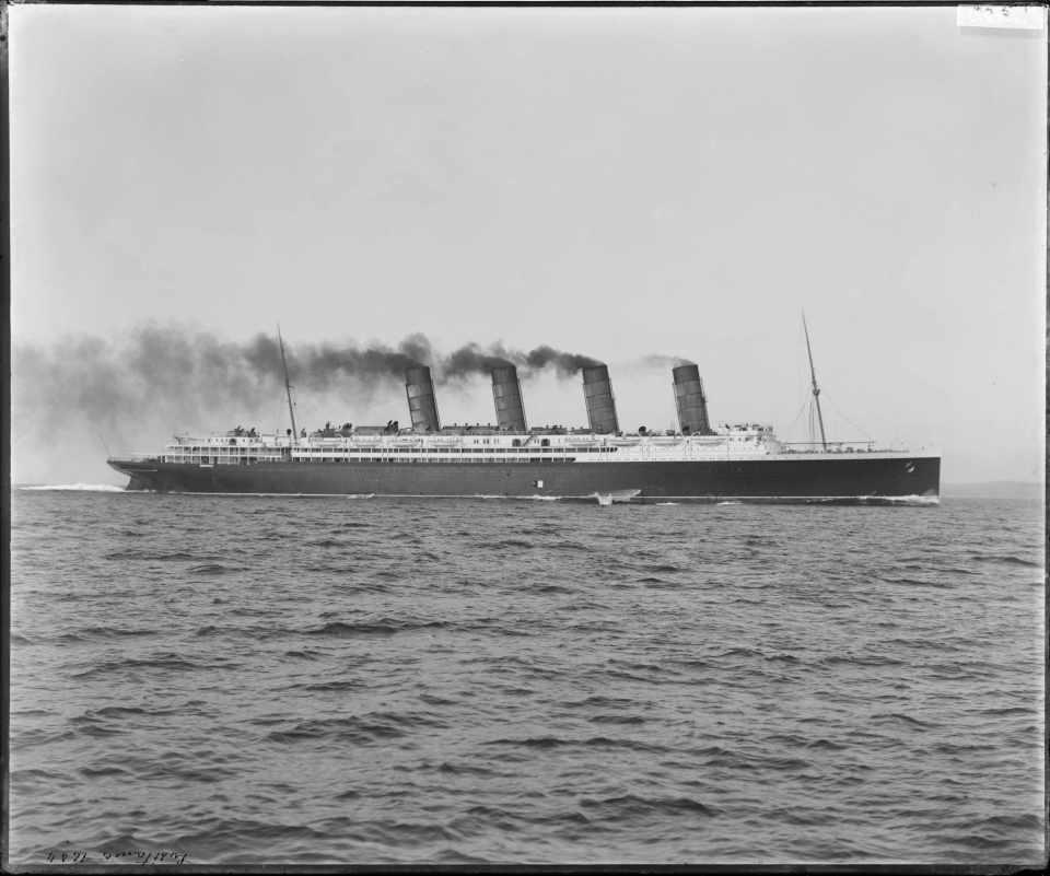 The RMS Lusitania (DC 101/379)
