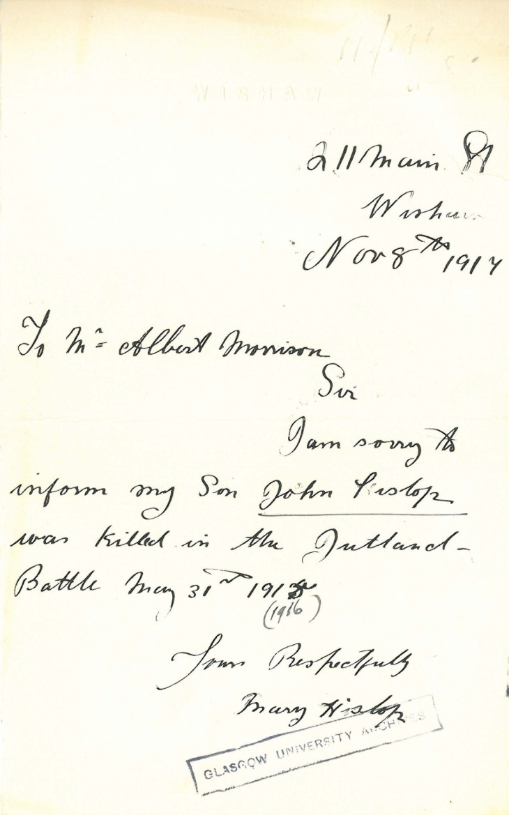 hislop letter
