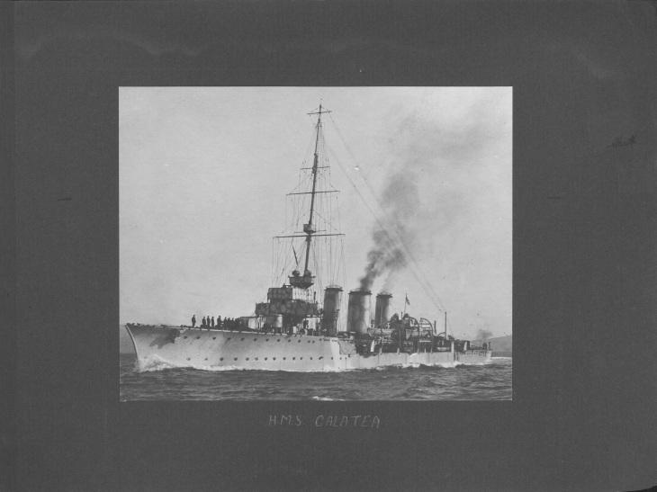 HMS Galatea. University of Glasgow Archives Reference: UGD100/1/11/8