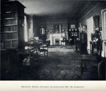 The Drawing Room at No. 8 (from James Cooper: A Memoir by H. J. Wotherspoon, p. 299).