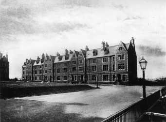 c.1890, Professors' Houses SW Facing, Professors' Square. (Reference, PHU3/3)