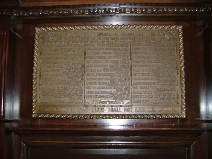 George MacLellan 2 RoyalTroonGolfClubWW1Memorial