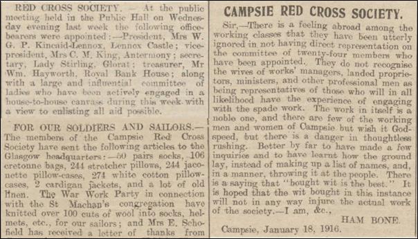Campsie Red Cross