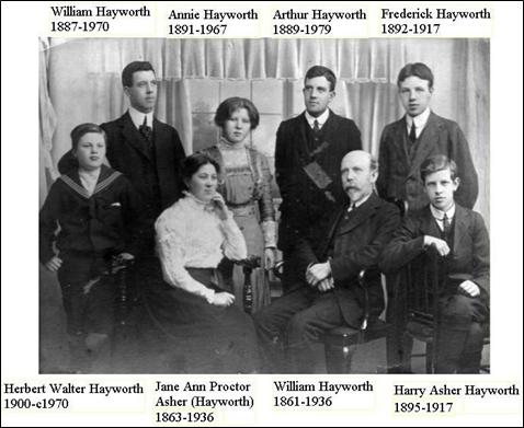 Hayworth Family 1910