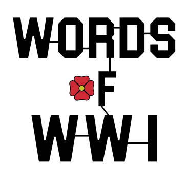 Official Logo - Words of WW1